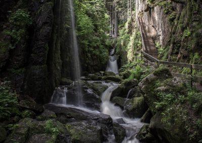 Wasserfall Menzenschwand Schwarzwald